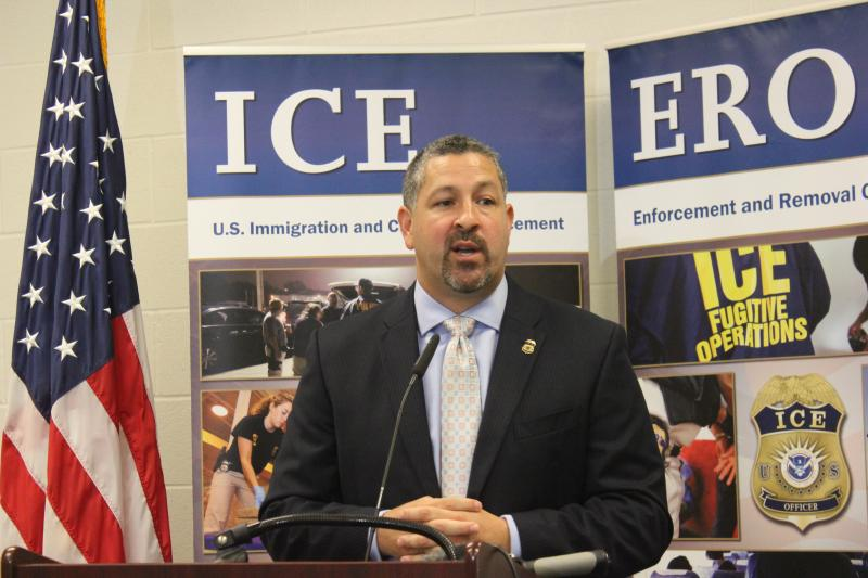 Enrique Lucero is the director of the San Antonio ICE Field Office