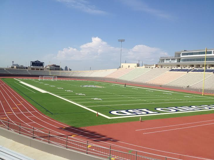 District officials say the newly renovated Alamo Stadium is ready to host its first game.