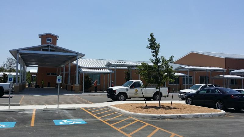 The East education center, off Eisenhauer Road, is one of two new centers opening this fall.
