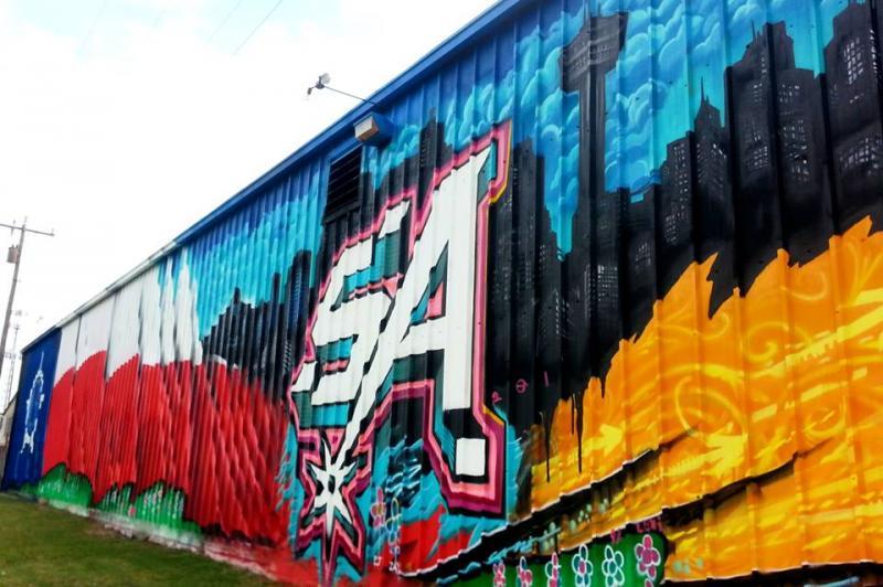 Murals Texas Public Radio