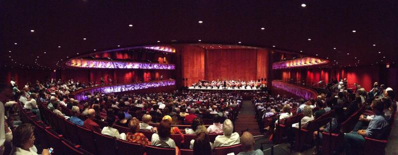 YOSA perfoms at the first public event at the Tobin Center.