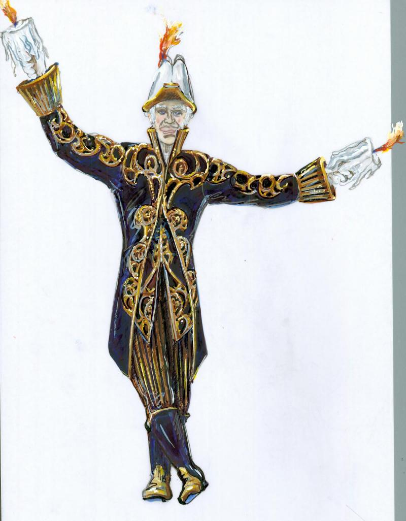 "Lumiere from ""Beauty and the Beast"""