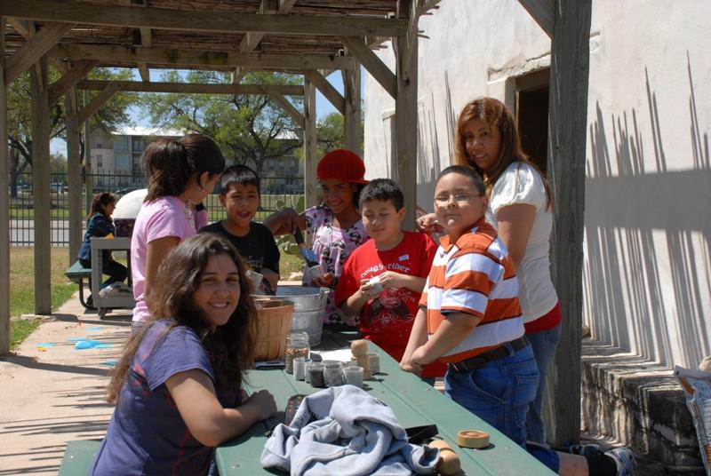 Activities at Tejano Ranching Family Day.