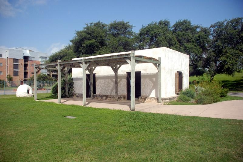 Adobe house on the ITC grounds.