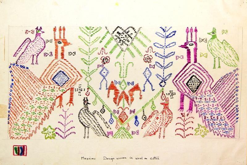 Mexican Weaving Design, La Villita