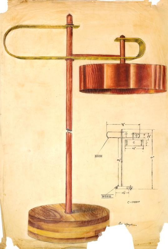 Table Lamp Design, La Villita