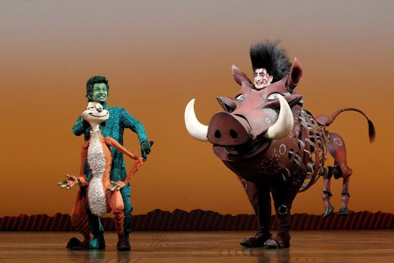The King Of Broadway Roars Into San Antonio Texas Public