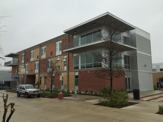 One of the housing units at Haven for Hope. The residents of the Thrive Youth Center will reside in a building like this while under Thrive's program