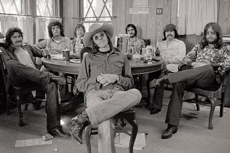 Doug Sahm, center.