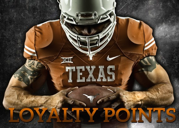 Loyalty Points Logo Texas Announces Loyalty Points
