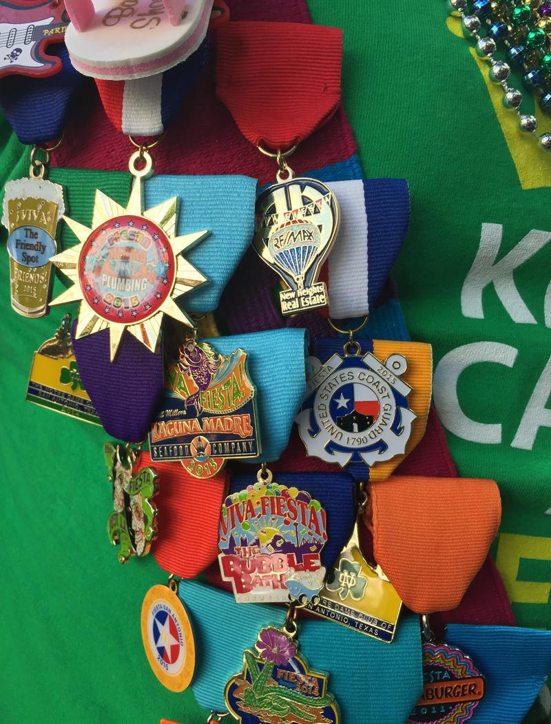 Fiesta medals!