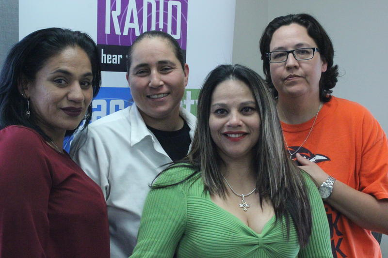 Cassie Rivera, Anna Vasquez, Elizabeth Ramirez, and Kristie Mayhugh