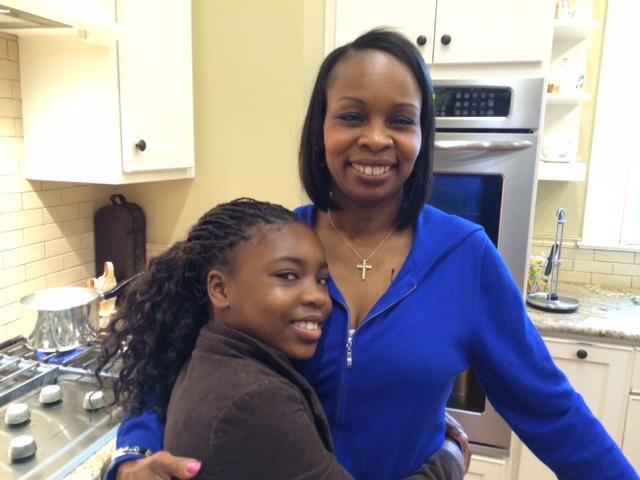 Mayor Ivy Taylor with daughter Morgan.