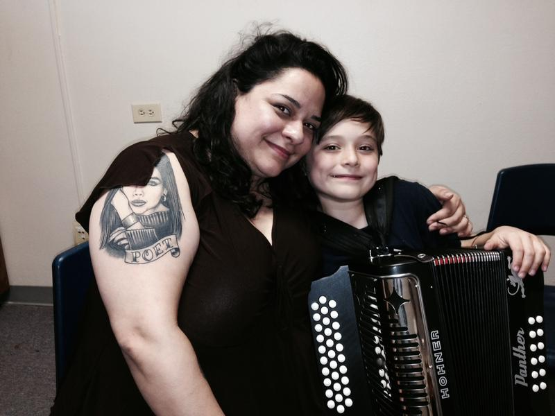 Joaquin with his mother Andi Linn