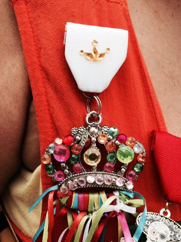 Rosa's handmade 2015 Fiesta Medal