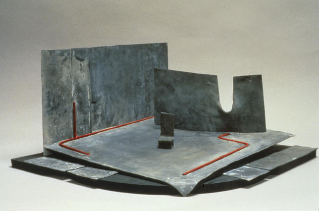 Ralph Koltai Maquette for Richard III   ca. 1979 Lead, painted metal, and wood