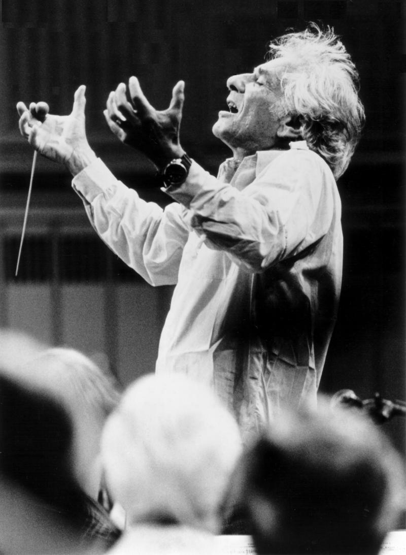 Leonard Bernstein, a study in passion