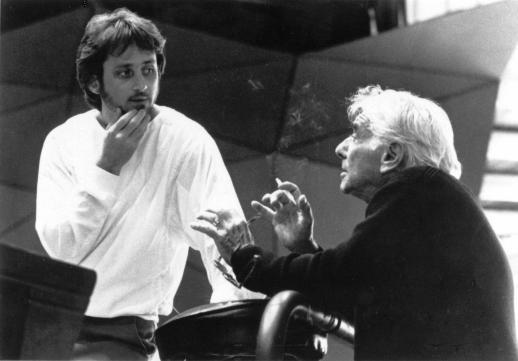 Carl St. Clair and Leonard Bernstein