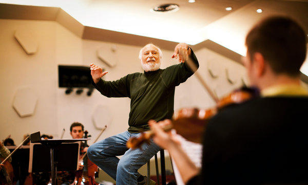 Conductor Maurice Peress