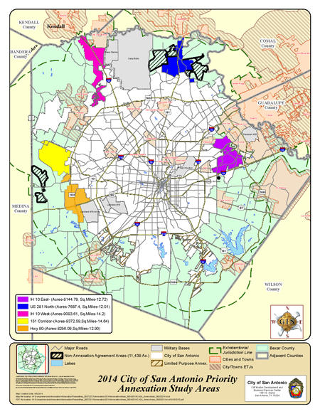 The Source A Changing Landscape For San Antonio Annexation
