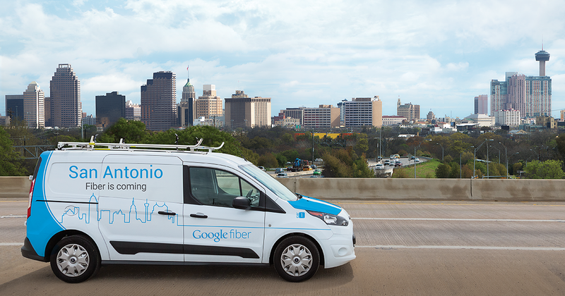 "Google will begin installing the infrastructure for fiber lines over ""next several months."""