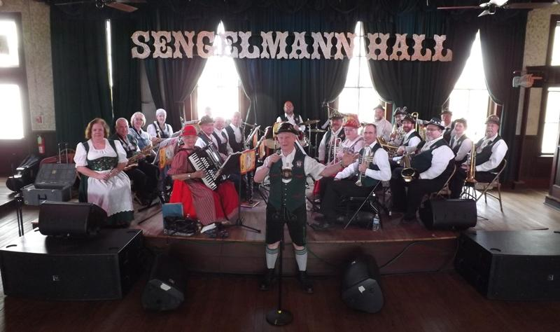 Boerne Village Band on trip to Germany