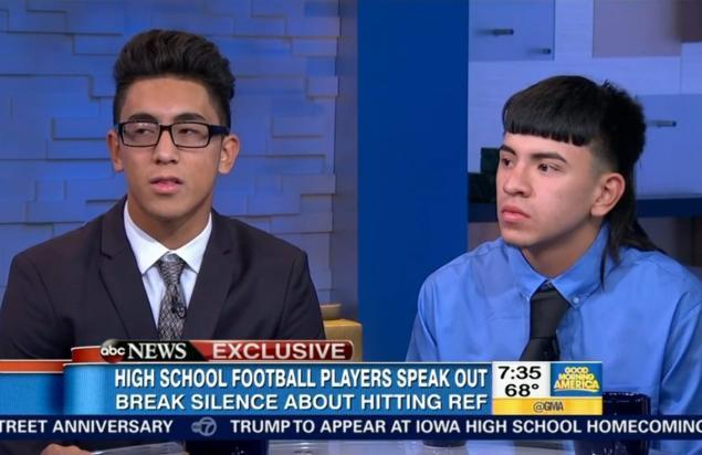 Two John Jay Football Players That Blindsided Referee, Michael Moreno and Victor Rojas