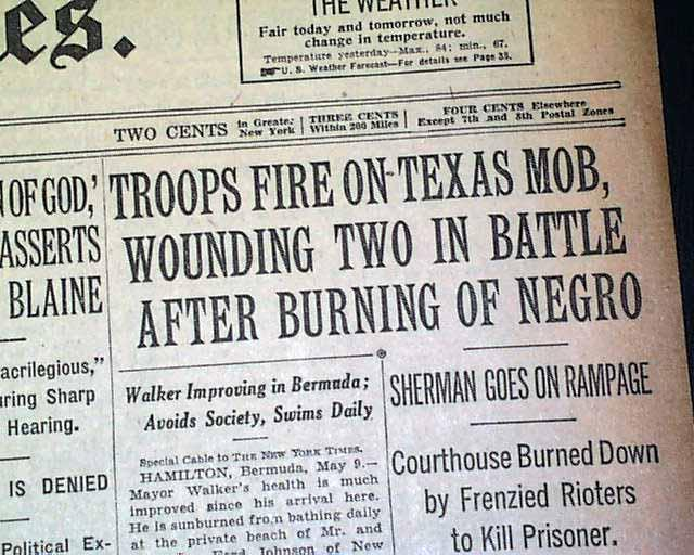 Texas Matters: A History Of Anti-Black Violence In Texas