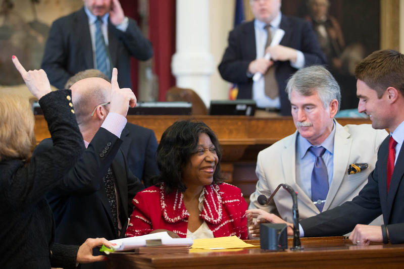 Former State Rep. Ruth Jones McClendon during her last session as a legislator in 2015.