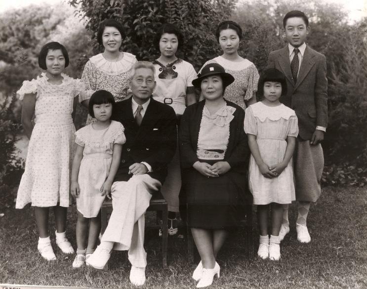 Jingu family 1930s