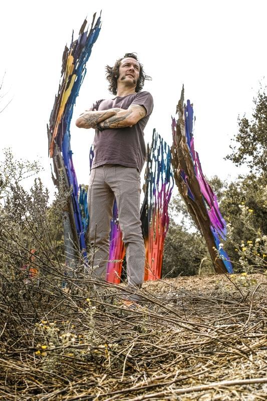 Artist Arne Quinze