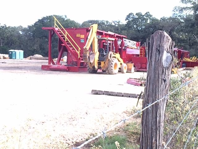 At sites Abengoa is drilling wells in Burleson County for the Vista Ridge pipeline.