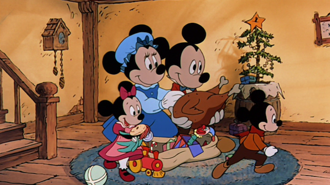 a holiday tradition mickeys christmas carol on blu ray - Mickeys Christmas