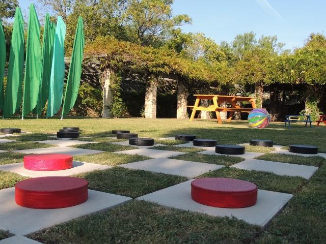 Amphitheater Area. San Antonio Botanical Center