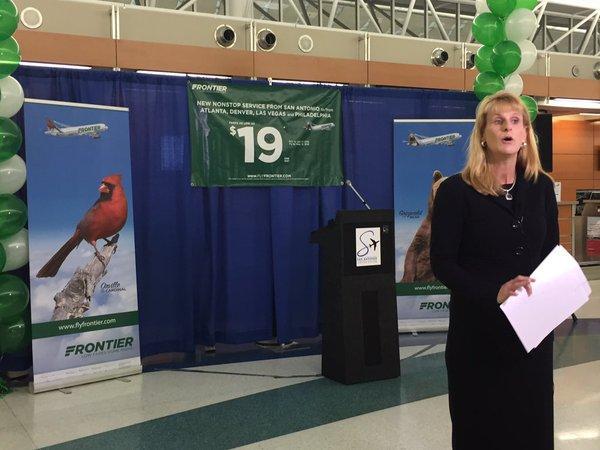 Frontier Airlines To Begin Service In San Antonio Texas