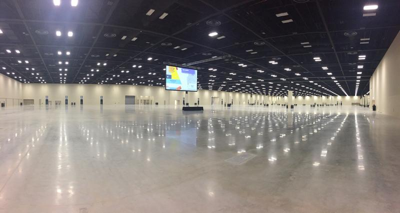 Henry B. Gonzalez Convention Center exhibition hall.