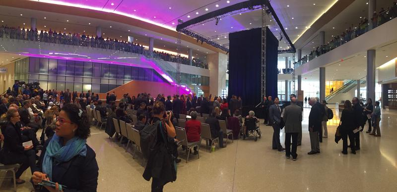 Henry B. Gonzalez Convention Center lobby.