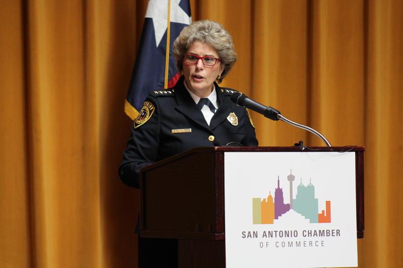 Bexar County Sheriff Susan Pamerleau