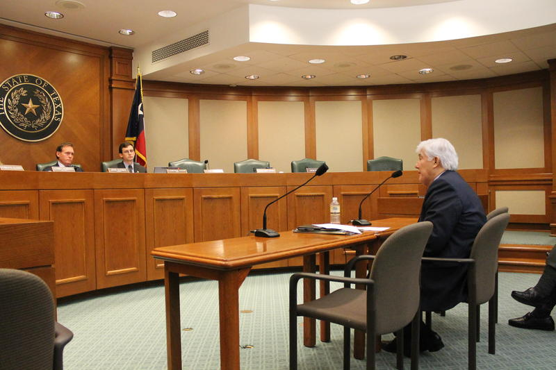 Dr. Raymond Peredes testifies before the Texas House Higher Education Committee