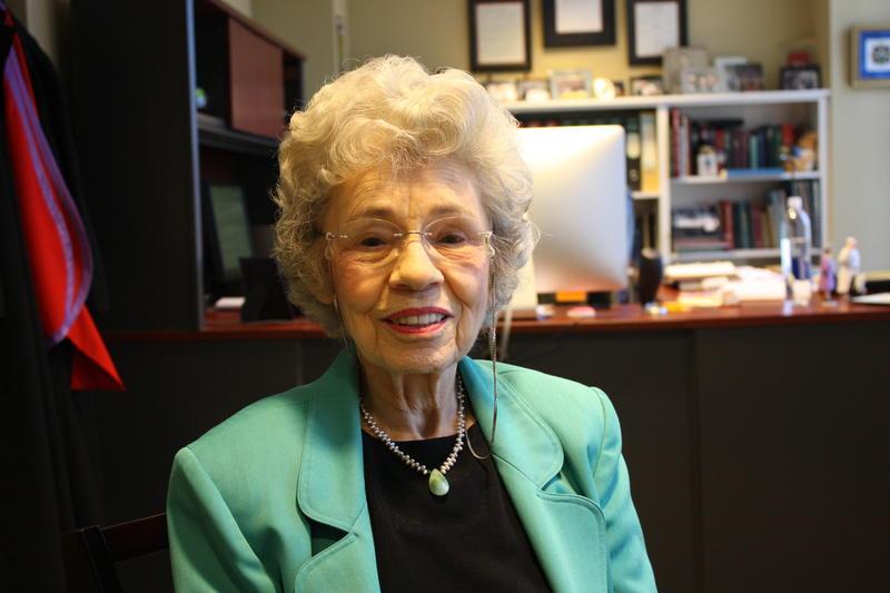 Wilma Jensen, choir director and organist.