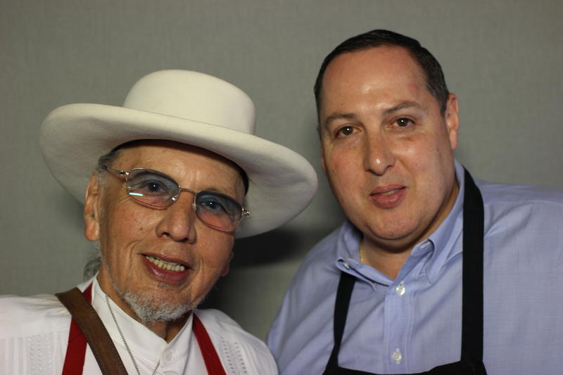 Jorge Cortez and his son, Pete, talked bout the history of their family restaurant business.