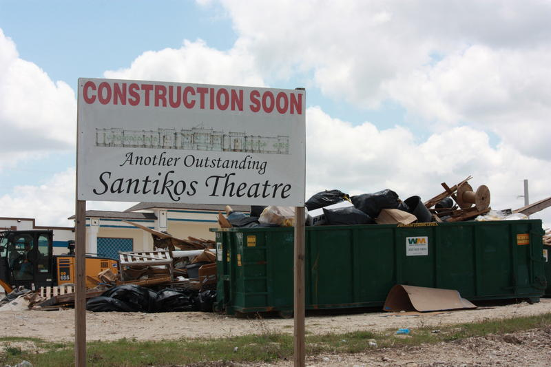 Santikos' newest theater, The Casa Blanca, is a state of the art movie theater and includes bowling lanes.