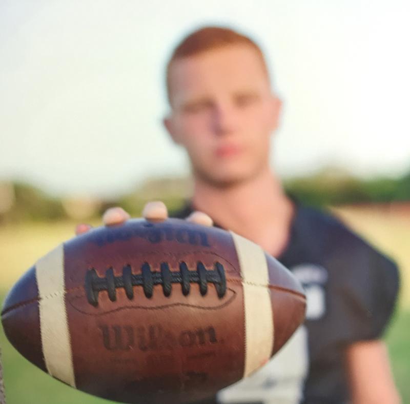 Clark High School quarterback Jake Stewart