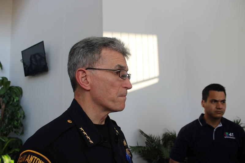 San Antonio Police Chief kept detials on new tactical procedures secret during a media conference Sunday afternoon.