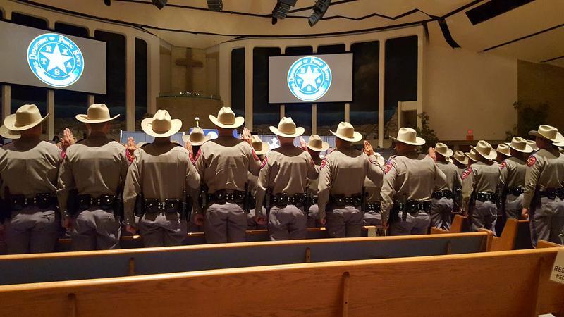 Texas DPS 2016 graduating class