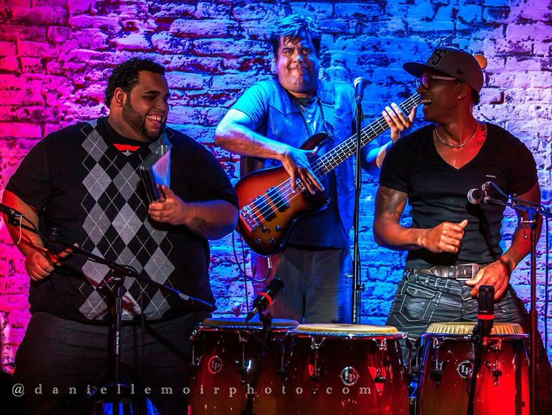 Pedrito Martinez and band