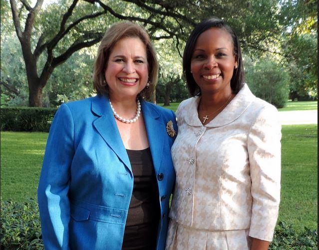 Former State Senator Leticia Van De Putte and San Antonio Mayor Ivy Taylor