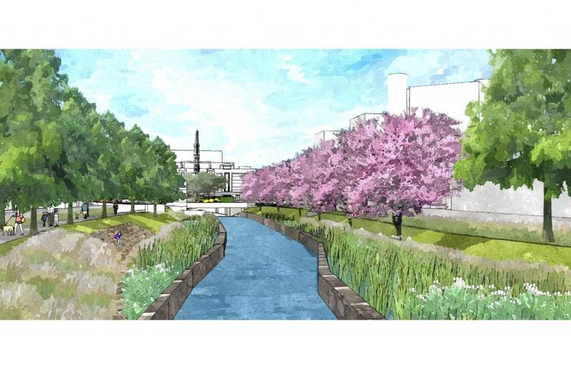 San Pedro Creek design plan (Salinas Street)