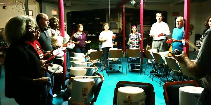 Urban 15 rehearsal