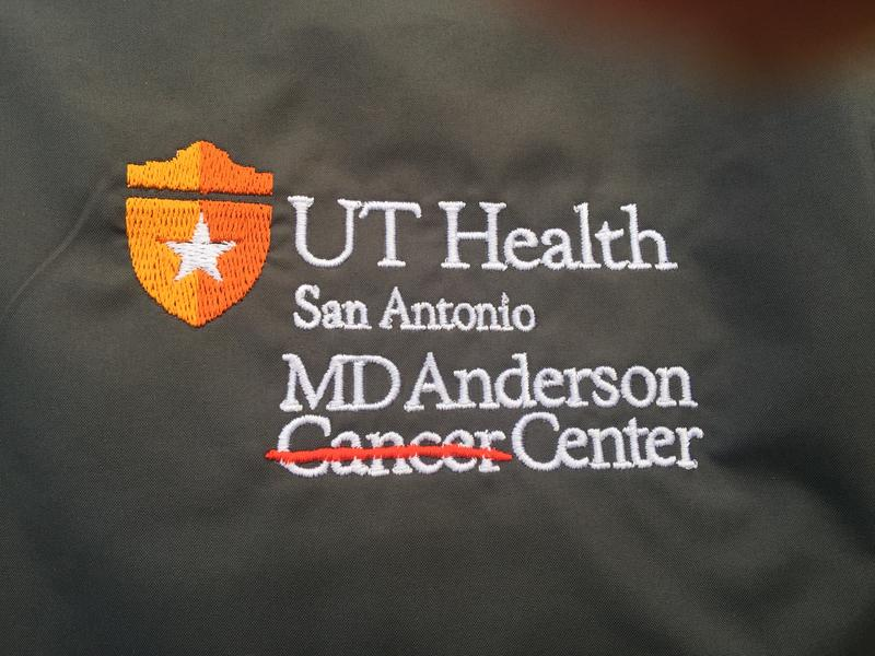 The new logo for the Cancer Therapy and Research Center reflects the new affiliation.